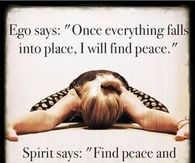 ego vs spirit