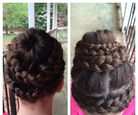 Swirl braid wrap