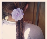 Simple dutch fishtail braid