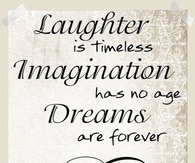 laughter imagination dreams