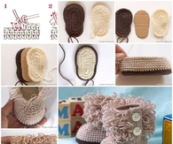DIY Crotchet Booties