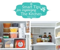 8 smart tips for organizing the kitchen
