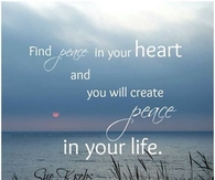 Find Peace In Your Heart