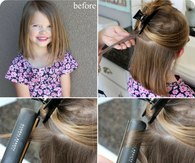 Flat Iron Curling Hair Tutorial