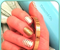 Gold bound nails