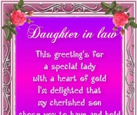Daughter in law quote