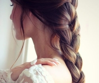 Beautiful braid ponytail