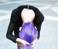Lavender purple hair