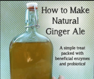 DIY Natural Gingerale