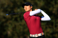 Michelle Wei (SHOWNG OFF HER SWING)