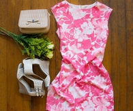 Pink & White Summer Dress