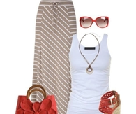 Maxi Skirt & Accessories