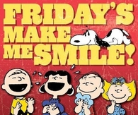 Friday makes me smile
