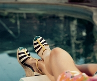Striped wedges