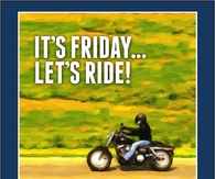 Let's ride its Friday