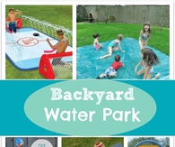 DIY Backyard Water Party