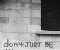 Don t just be another brick in the wall