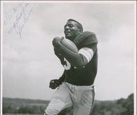the man that kept tickin' Jim Brown early years