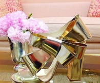 Fashion Sexy Charming Bowknot Platform High Heel Sandals