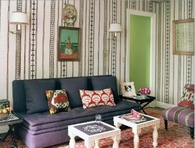 Decorating Walls with Fabric