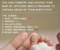 Baby Foot Massage Wonderful Bonding