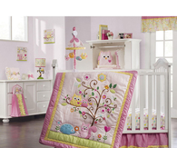Baby Girls Owl Room
