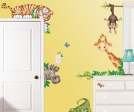 Animal themed bedroom