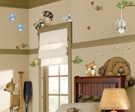 Wild Life Children's Room Wall Decals