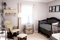 Parisian inspired nursery