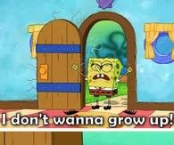 Spongebob Grown Up