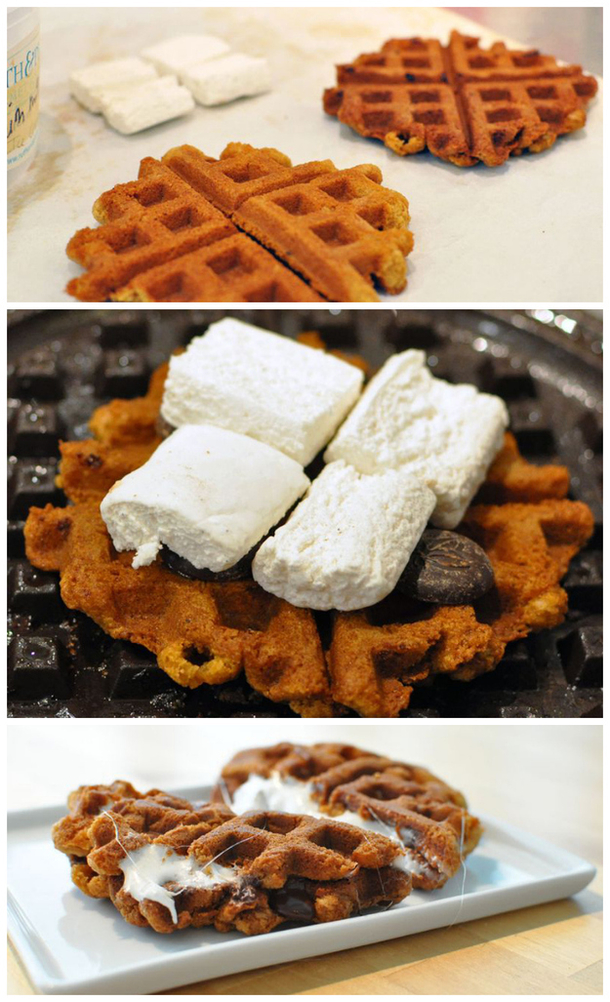 waffle iron recipes and hacks everyone should know this will save you so much time in the morning. Black Bedroom Furniture Sets. Home Design Ideas