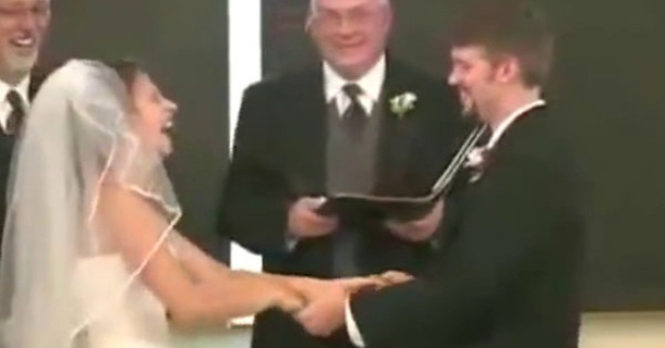 Laughing During Vows Bride Can 84
