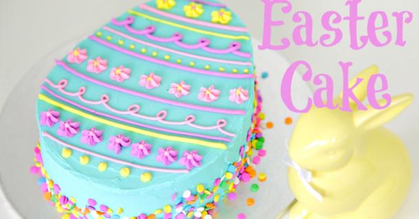 Cake Decorating Quiz : Easter Egg Cake Decorating - CAKE STYLE